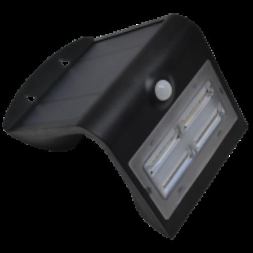 Napelemes LED fali világítótest mozgásérzékelővel