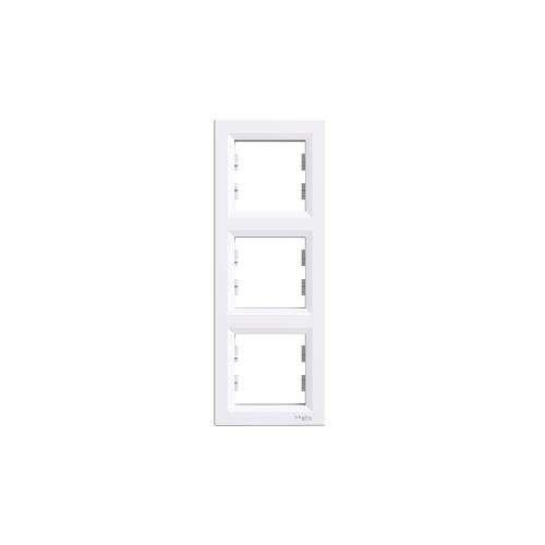 Schneider Electric ASFORA Hármas keret, függőleges, fehér EPH5810321