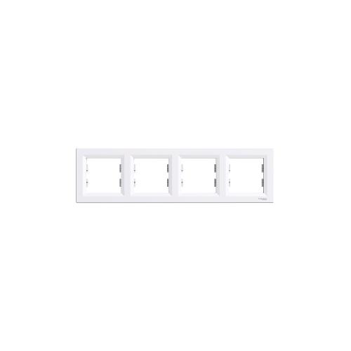 Schneider Electric ASFORA Négyes keret, vízszintes, fehér EPH5800421