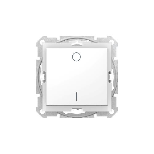 Schneider Electric Sedna Kétpólusú kapcsoló IP44 fehér (102) SDN0200321