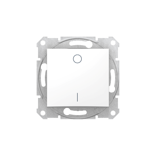 Schneider Electric Sedna Kétpólusú kapcsoló fehér (102) SDN0200121