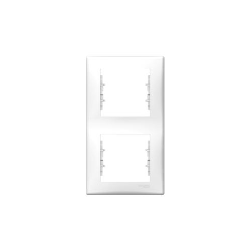 Schneider Electric Sedna Kettes keret, függőleges fehér SDN5801121
