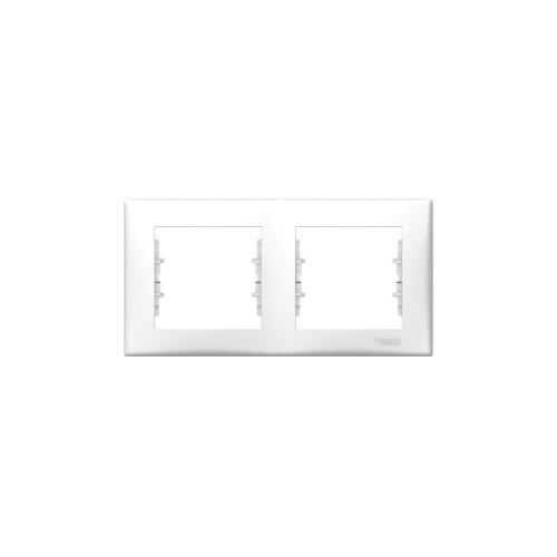 Schneider Electric Sedna Kettes keret, vízszintes fehér SDN5800321