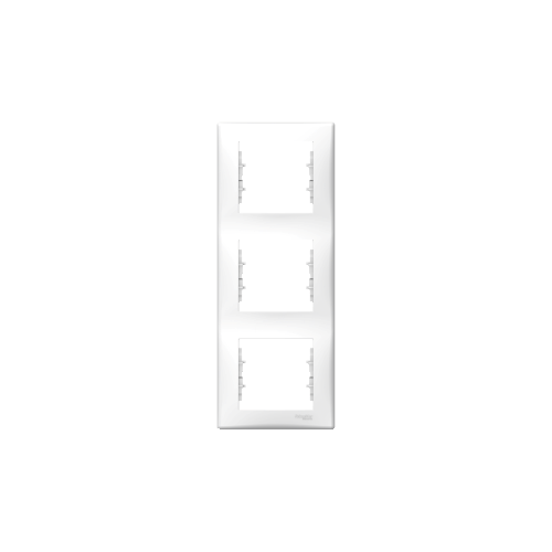 Schneider Electric Sedna Hármas keret, függőleges fehér SDN5801321