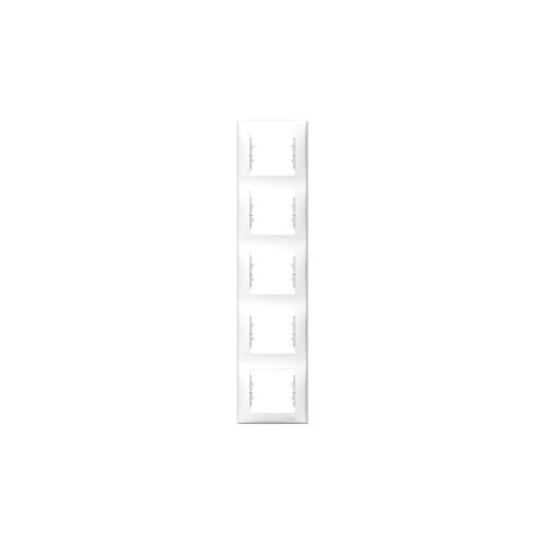 Schneider Electric Sedna Ötös keret, függőleges fehér SDN5801521