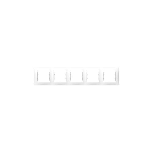 Schneider Electric Sedna Ötös keret, vízszintes fehér SDN5800921