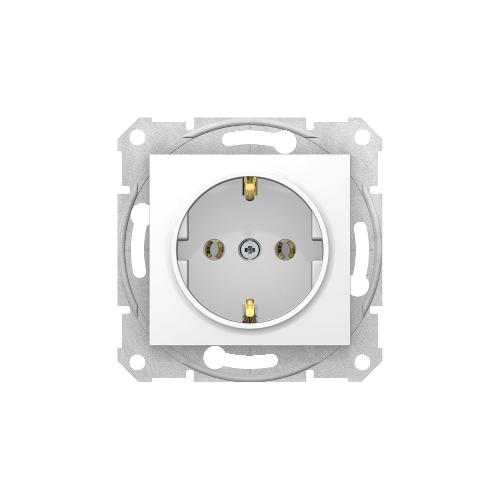 Schneider Electric Sedna 2P+F csatlakozóaljzat fehér, csavaros bekötés SDN3000521