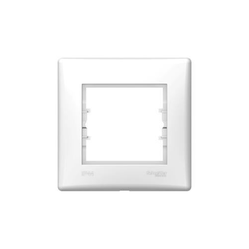 Schneider Electric Sedna Egyes keret, IP44 fehér SDN5810521