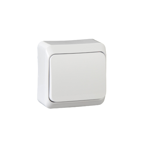 Schneider Electric PRIMA 101 Egypólusú kapcsoló 10AX,IP20 fehér WDE001010