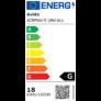 Kép 2/2 - Avide LED Beépíthető Négyzetes Mennyezeti Lámpa ALU 18W NW 4000K